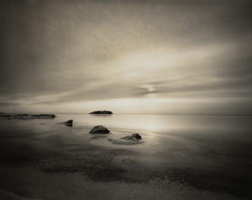 Silver Bay (Pinhole shot)