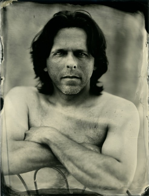 Daniel Seybold - 6x8 collodion on aluminum