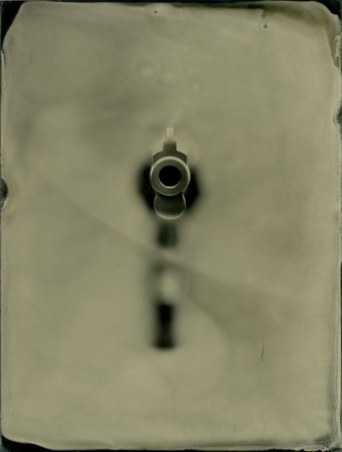 Muzzle - whole plate collodion on aluminum. 3rd place in MN State Fair 2011