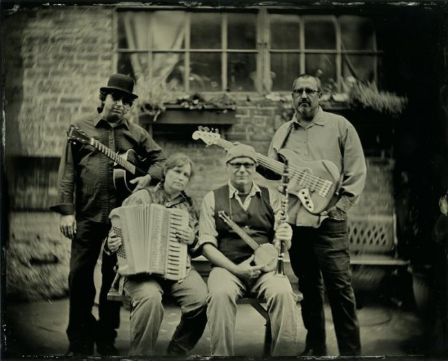 Machinery Hill - local MN based band. 8x10 collodion on aluminum